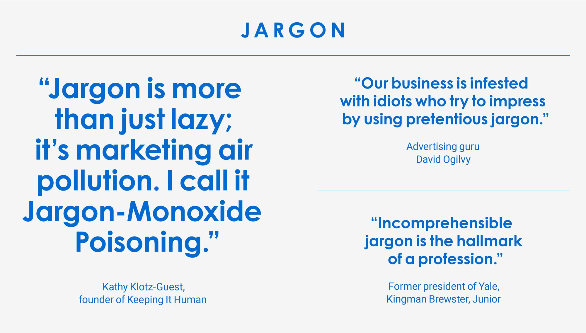 02. Jargon (Insight Agents)