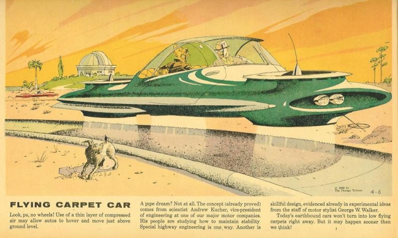 Flying Carpet Car